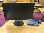 Picture of a flat panel monitor